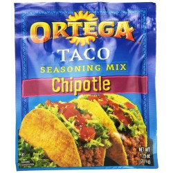 Ortega Taco Seasoning Mix, Chipotle, 1.25-Ounce