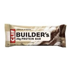 Clifbar Builders Protein Bar -  Pack Vanilla Almond