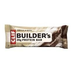 Clifbar Builders Protein Bar -  Pack Vanilla Almond