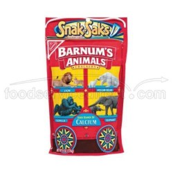 Nabisco, Barnum's, Animal Crackers, Snack-Saks, 8 OZ
