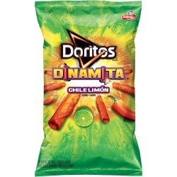 Doritos Dinamita Chile Limon Flavor Rolled Tortilla Chips, 9.25 OZ