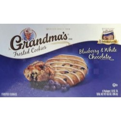 Grandma's Frosted Cookies, Blueberry and White Chocolate, 10.8 OZ Box