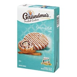 Grandma's, Frosted Cookies, Cinnamon Roll Flavored, 6 Count, 10.8 OZ  Box