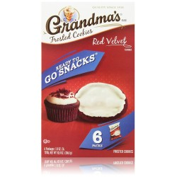 Grandma's Frosted Cookies, Red Velvet, 10.8 Ounce