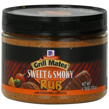 McCormick Sweet & Smoky Rub, 4.76-Ounce