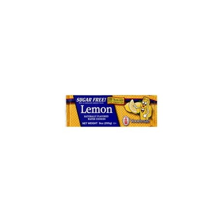 Voortman, Sugar Free, Lemon Wafers, 9oz Bag