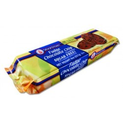 Voortman, Sugar Free, Fudge Chocolate Chip, 8oz Bag