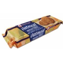 Voortman, Sugar Free, Oatmeal Cookies, 8 Oz Bag