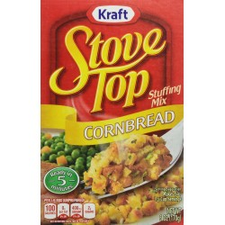Stove Top Stuffing Mix, Cornbread, 6 Ounce