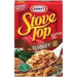Kraft Stove Top Turkey Stuffing Mix
