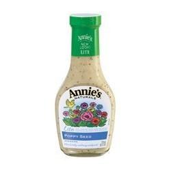 Annies Naturals Lite Poppy Seed Dressing, 8 OZ