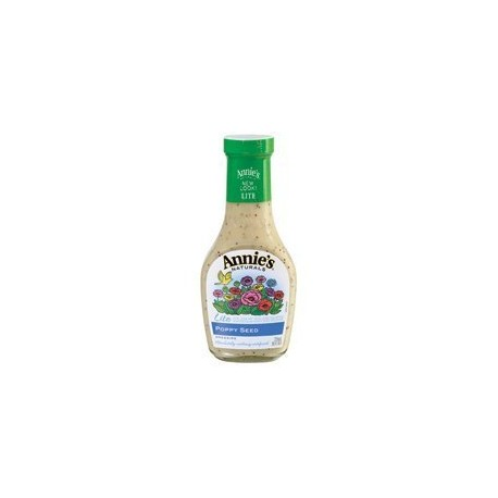 Annies Naturals Lite Poppy Seed Dressing, 8 OZ