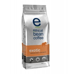 Ethical Bean Coffee CompanyExotic - Medium Roast, Whole Bean, 12-Ounce Bag (Pack of 2)