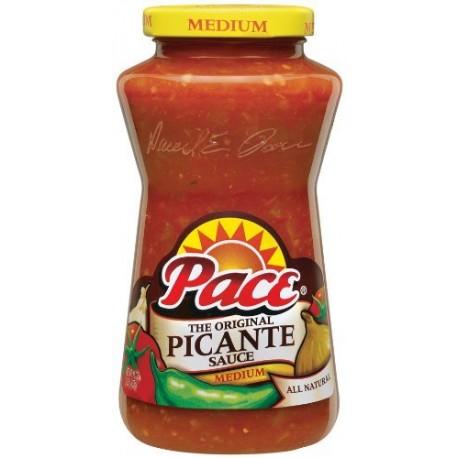 Pace The Original Picante Sauce Medium 16 Oz