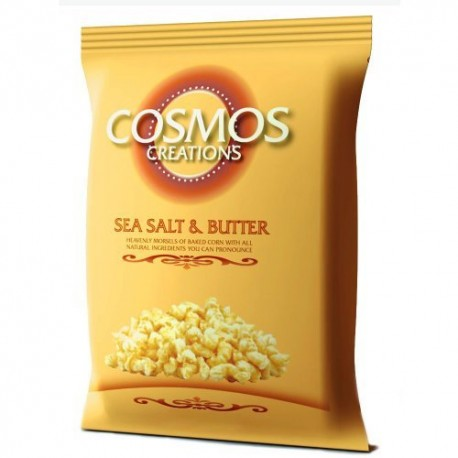 Cosmos Creations Sea Salt and Butter Snack, 7 Ounce