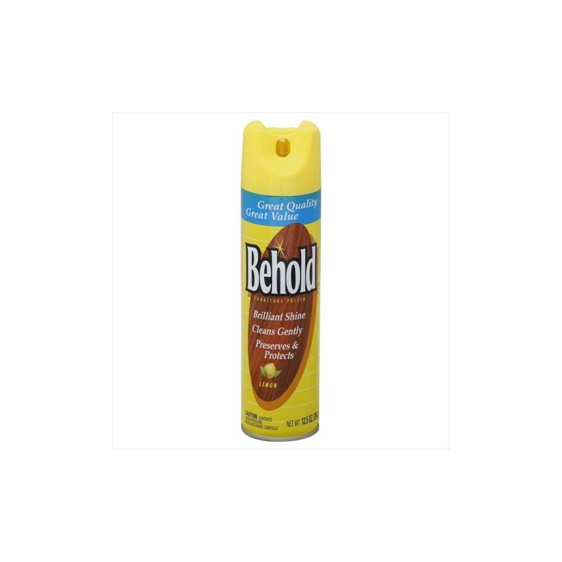 Behold Furniture Polish Lemon 12 5 Oz Maharaja Foods