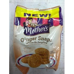 Mother's, Ginger Snaps, 12 OZ Bag