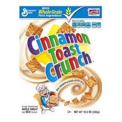General Mills, Cinnamon Toast Crunch Cereal, 12.2 OZ Box