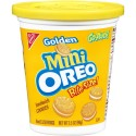 Oreo Mini Sandwich Cookies Bite Size Go-packs Golden Oreo 3.5 OZ