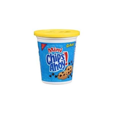 Nabisco Mini Chocolate Chips Ahoy!  Go Pack! 3.5 oz