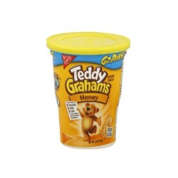 Nabisco Teddy  Grahams  Mini Crackers Go Packs! 3.5 Of