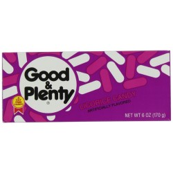 Good & Plenty Licorice Candy, 6-Ounce Boxe