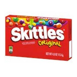 Skittles Original Candy Theater Size Packs