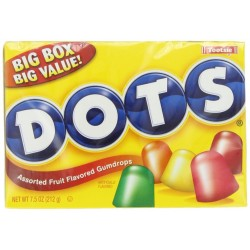 Tootsie Dots Assorted Flavors, 7.5 OZ