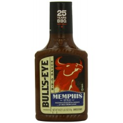 Bull's Eye Memphis Style Regional Barbecue Sauce, 18 Ounce Bottle