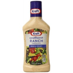 Kraft Southwest Ranch Dressing, 15.8 Ounce