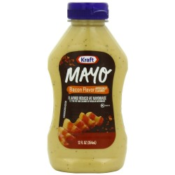 Kraft, Bacon Flavored Mayo, 12 Oz Squeeze Bottle