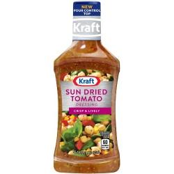 Kraft Sun Dried Tomato Vinaigrette Dressing & Marinade, 16-Ounce Plastic Bottles