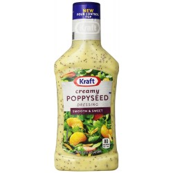 Kraft Creamy Poppy Seed Dressing & Dip, 16-Ounce Plastic Bottles
