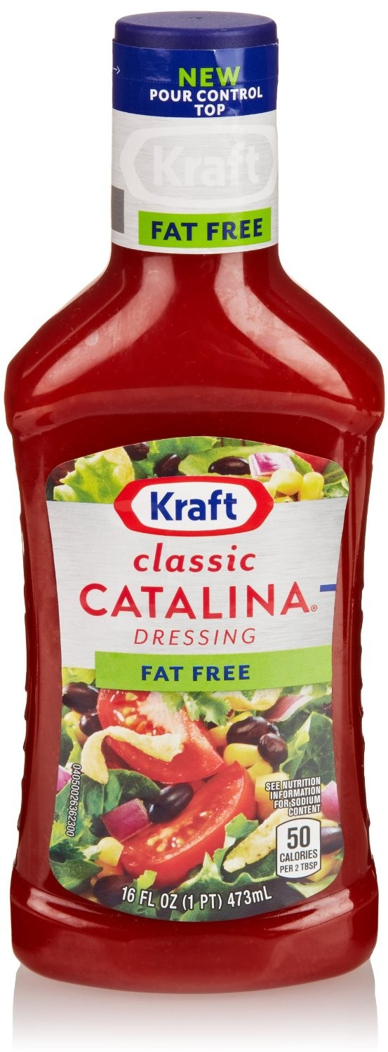 roll over image to zoom in kraft classic catalina dressing fat free 16 fl oz maharaja foods