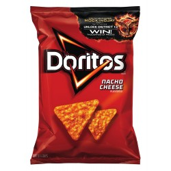 Doritos Tortilla Chips, Nacho Cheese, 11 Oz