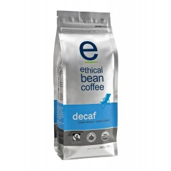 Ethical Bean Coffee Company Decaf -Dark Roast, Whole Bean, 12-Ounce Bags (Pack of 2)