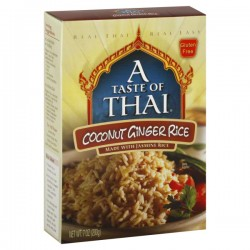 A Taste of Thai Coconut Ginger Rice, 7 oz