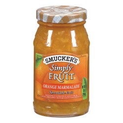 Smucker's Simply Fruit Orange Marmalade Spreadable Fruit, 10-Ounce