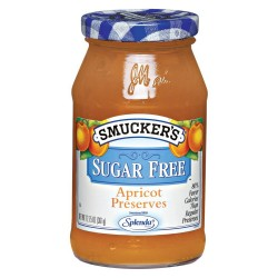 Smucker's Sugar Free Apricot Preserves, 12.7500-Ounce