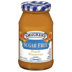 Smucker's Sugar Free Peach Preserves, 12.7500-Ounce