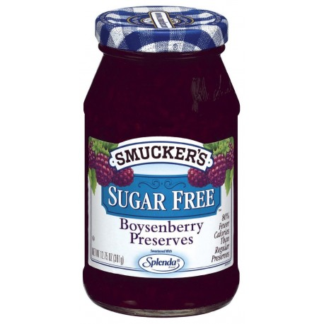 Smucker's Sugar Free Boysenberry Preserves, 12.75-Ounce