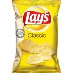 Lays Classic Potato Chips, 13.5 Oz Bag
