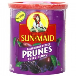 Sun Maid California Pitted Prunes, 16-Ounce Canister