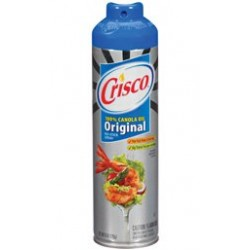 Crisco Original No-Stick Cooking Spray, 6-Ounce