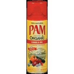 Pam Organic Canola Oil Non Stick Cooking Spray 5 Oz Can