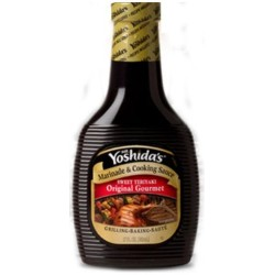 Mr. Yoshida's, Original Gourmet Sauce, 17oz Bottle