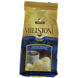 Millstone French Vanilla Ground Coffee, 12-Ounce Packages (Pack of 2)