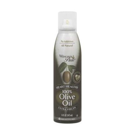 Winona Pure Heart Healthy 100% Olive Oil Cooking Spray 5 Ounces