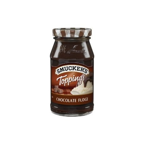 Smuckers Chocolate Fudge Topping 12OZ