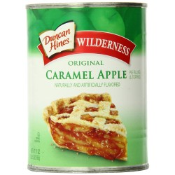 Wilderness Caramel Apple Pie Filling and Topping, 21-Oz
